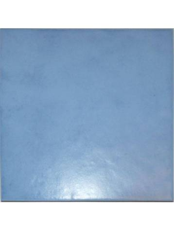 Carrelage mural bleu clair 20x20 ebro mayolica lot 1 m2 for Carrelage mural bleu