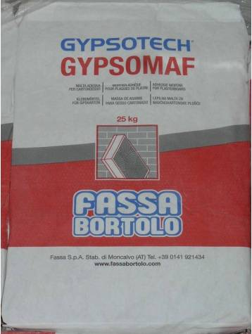Mortier colle Gypsomaf - Sac 25 KG