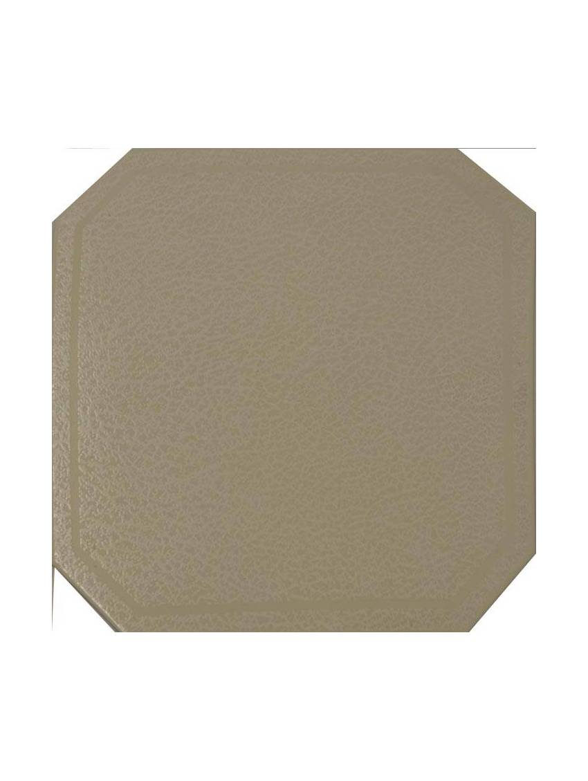 Carrelage octogonal blanc brillant manille 31x31 gres lot for Carrelage octogonal blanc