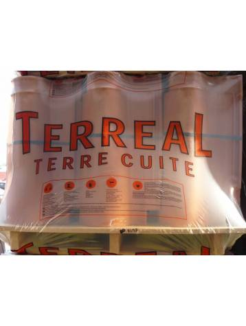 Palette Tuile DCL rouge Terreal - 90 tuiles