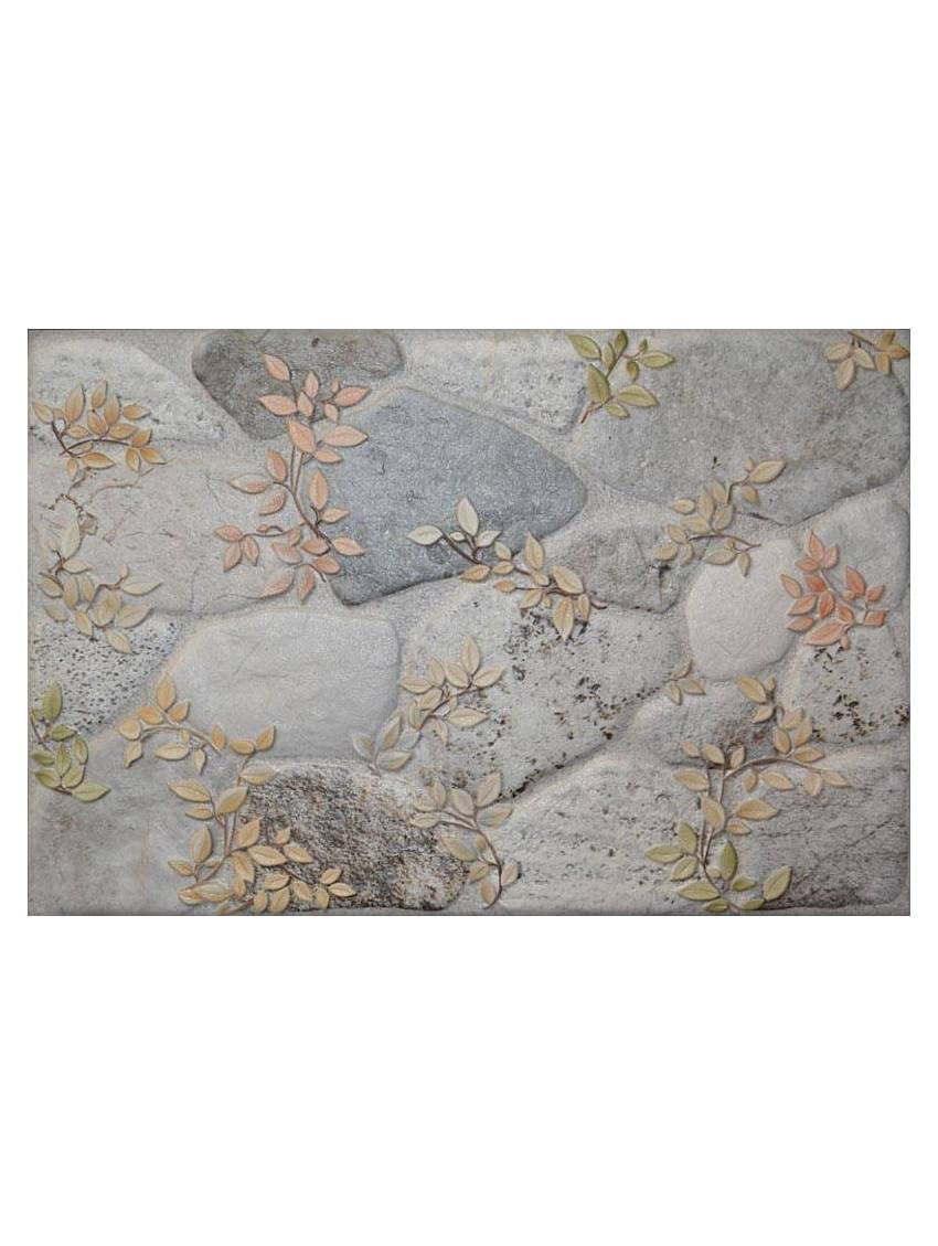 Carrelage imitation pierre gris paquet 1 m2 - Carrelage mural imitation pierre ...