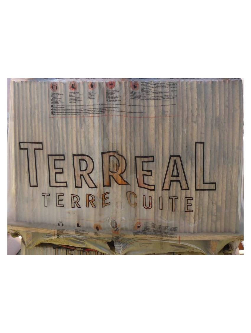 Tuile canal castelviel terreal palette 250 tuiles for Prix palette tuile