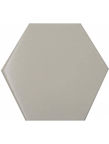 Carrelage hexagonal blanc 13 2x15 2 tomette la piece for Carrelage blanc hexagonal
