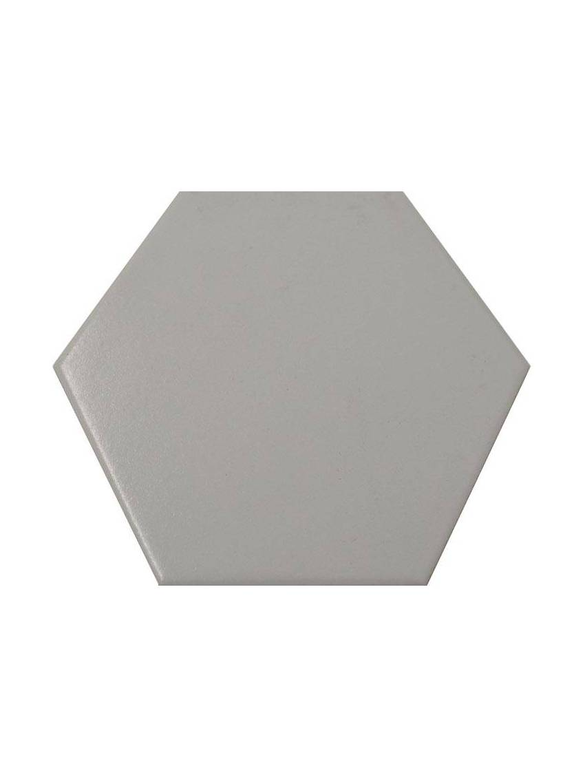 carrelage hexagonal gris 13 2x15 2 tomette la piece. Black Bedroom Furniture Sets. Home Design Ideas
