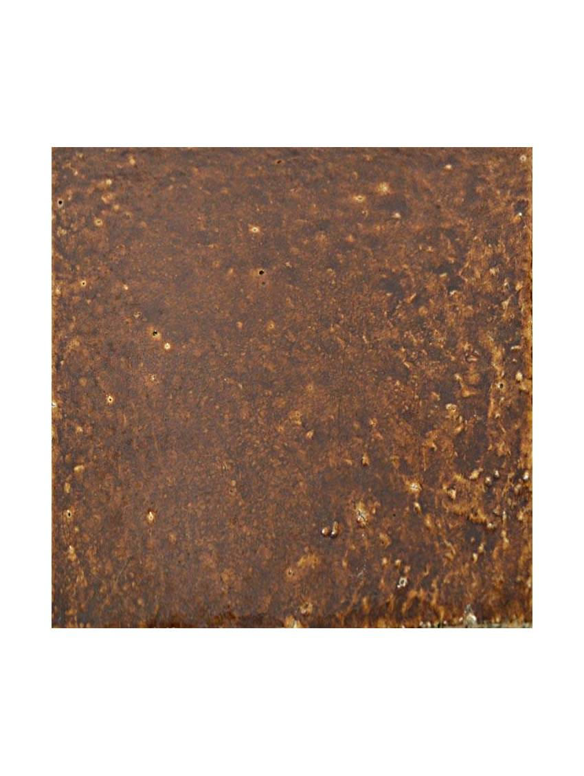 Carrelage marron brillant 25x25 longchamp ceralave la piece for Carrelage sol marron