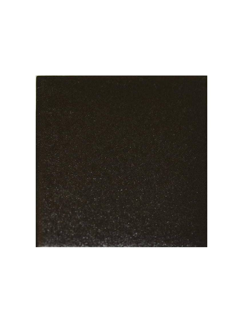 Cabochon noir mate 4 8x4 8 pour carrelage octogonal la piece for Carrelage octogonal