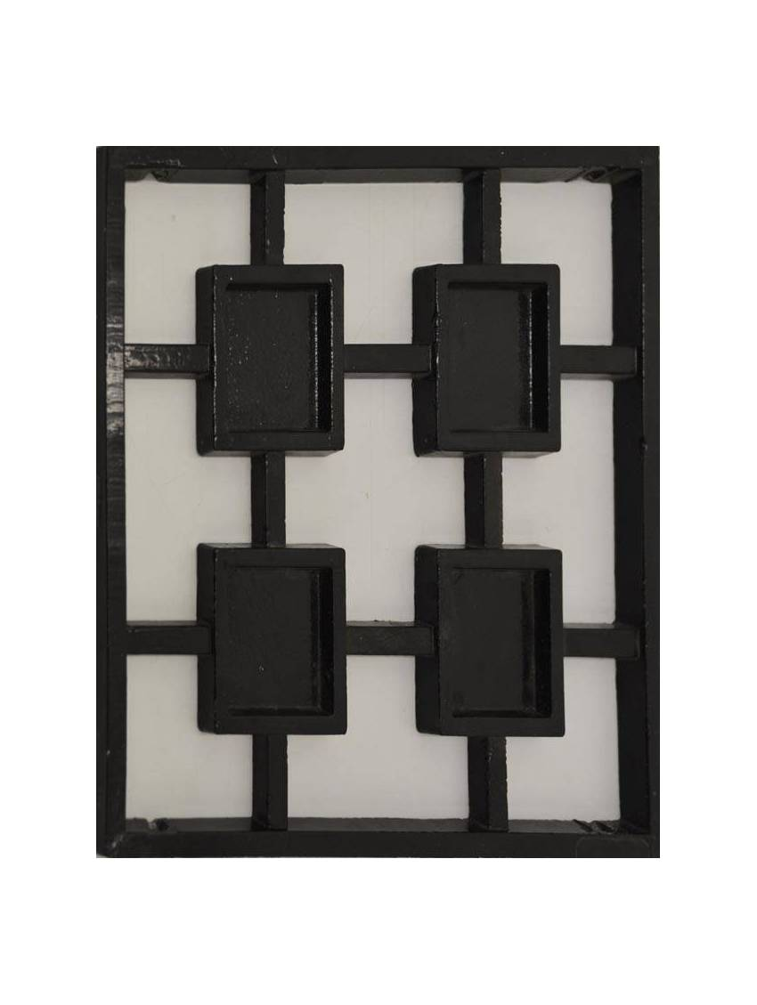 grille carres fer forge pour porte d 39 entree a visser 25x28 cm la piece. Black Bedroom Furniture Sets. Home Design Ideas
