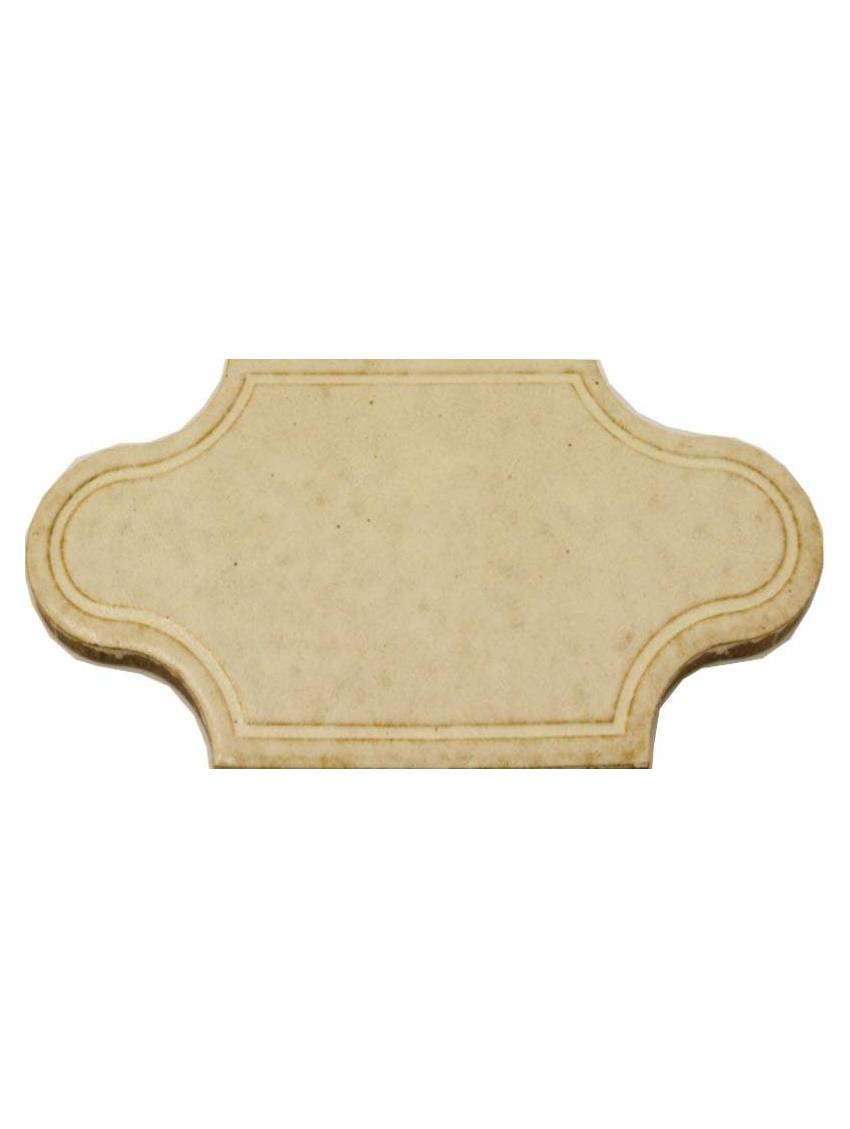 Carrelage losange blanc 19 5x9 7 gresparma lot 150 pieces for Carrelage losange