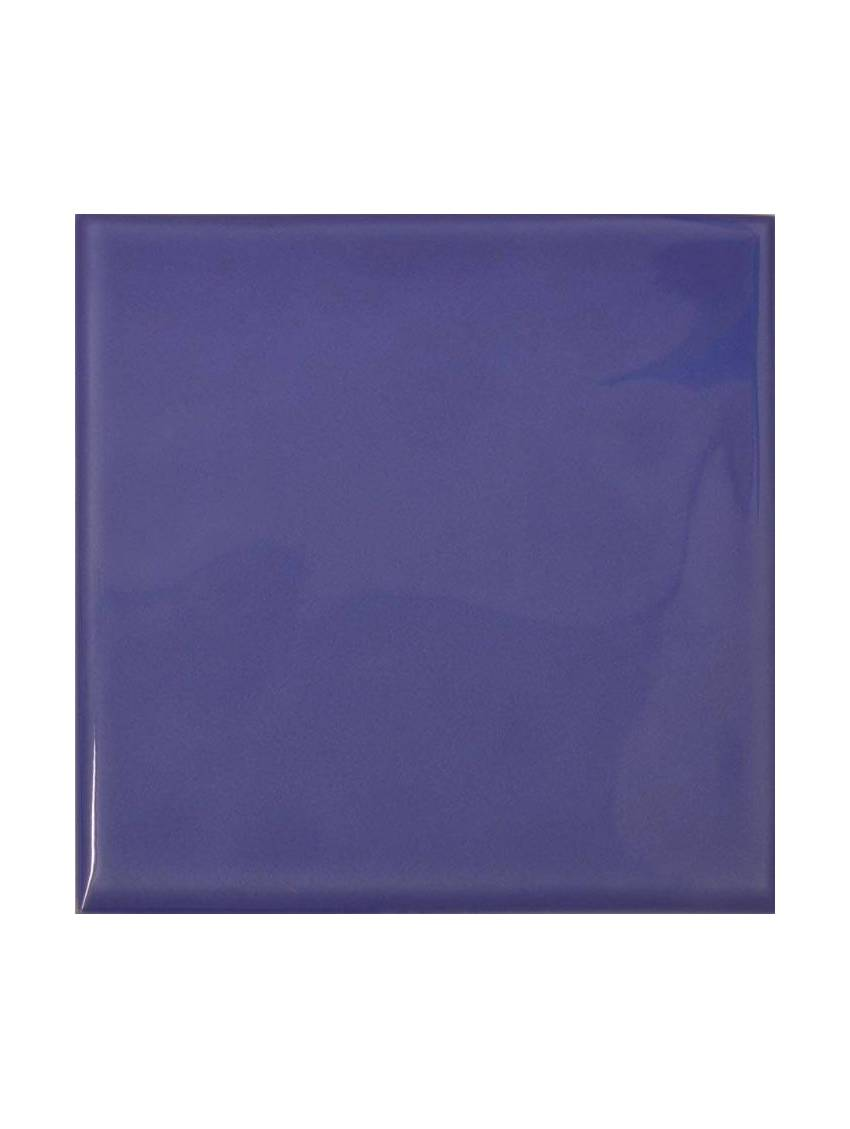 Carrelage mural bleu brillant bossele 20x20 lot m2 for Carrelage mural bleu