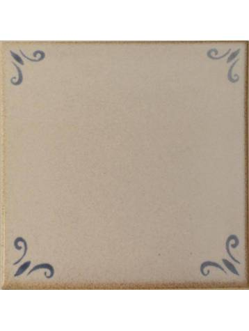 Decor carrelage blanc liseret bleu sarreguemines for Deco carrelage sarreguemines