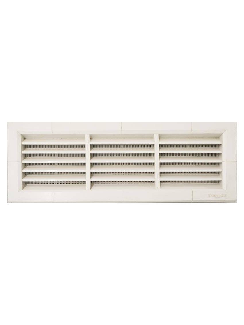 grille de ventilation rectangulaire 340x140 la ventilazione pvc piece. Black Bedroom Furniture Sets. Home Design Ideas