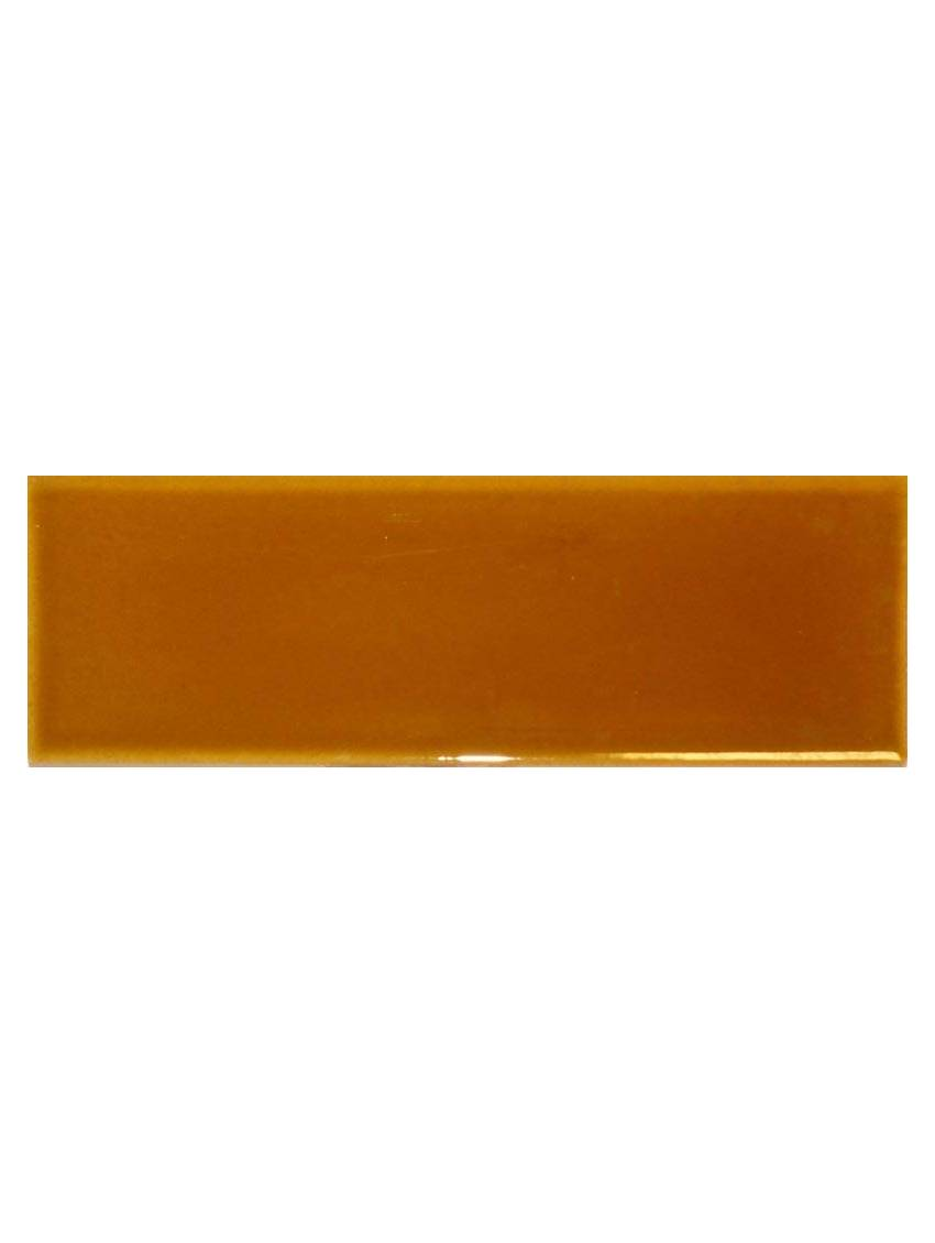 Plinthe marron clair brillante 20x7 5 la piece for Carrelage marron clair