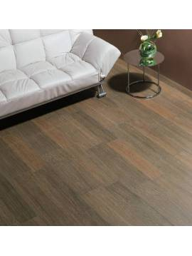 Carrelage imitation bois marron 33,3x66,6 - Paquet 1,05 m²