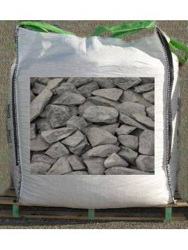 Big bag de gravier gris 1,6 tonne