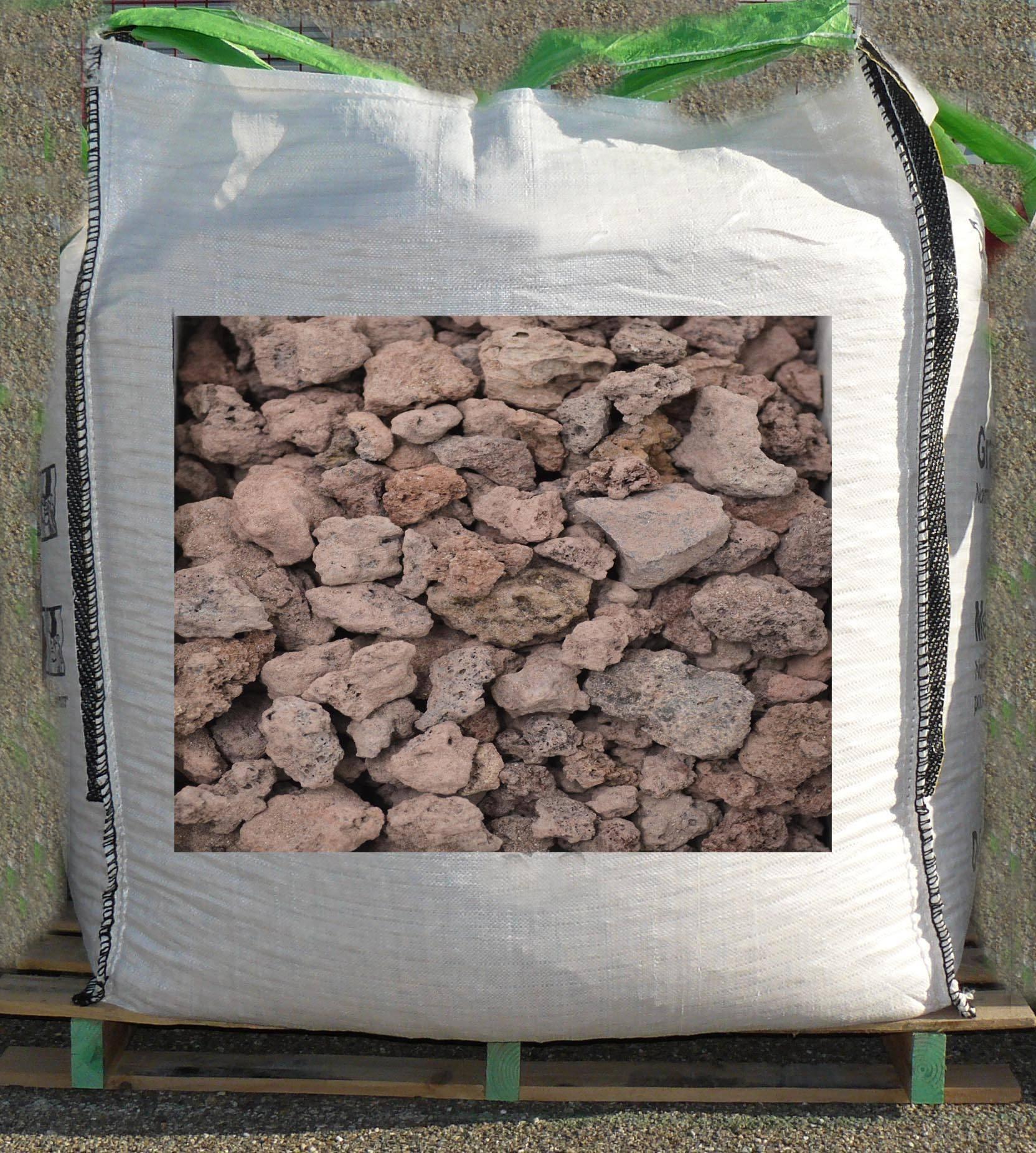 pouzzolane marron 7 - 15 mm big bag 1 m3
