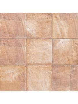 Carrelage rose orange rustique 20x20 Mainzu Forli - Paquet 1 m2