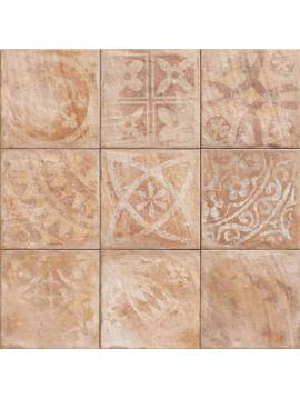 Carrelage rose orange rustique decor 20x20 Mainzu Forli Teano - Paquet 1 m2