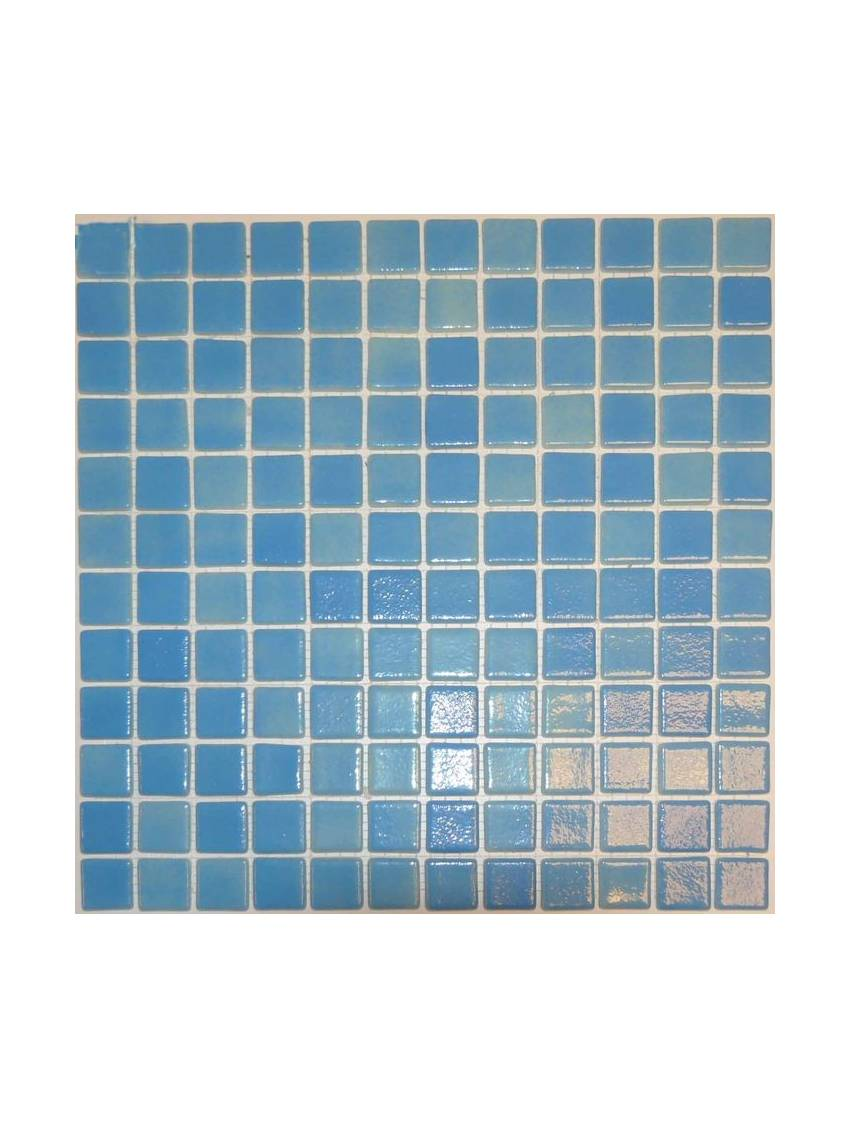 Mosaique piscine bleu 32x32 cm emaux paquet 2 m2 for Carrelage 32x32