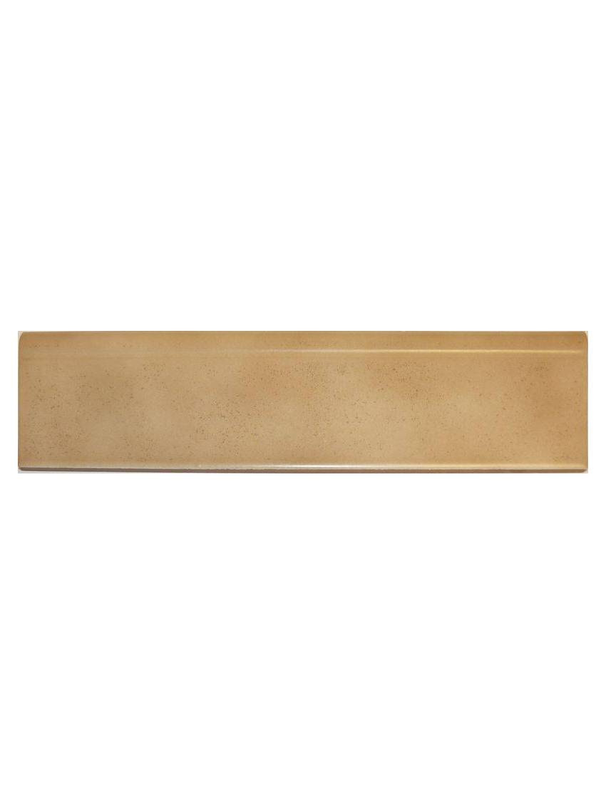 Plinthe beige mate gres emaille 8x31 5 oset la piece for Plinthes carrelage exterieur