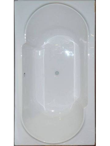 Baignoire blanche rectangulaire 180x90 alliance for Fenetre 180x90