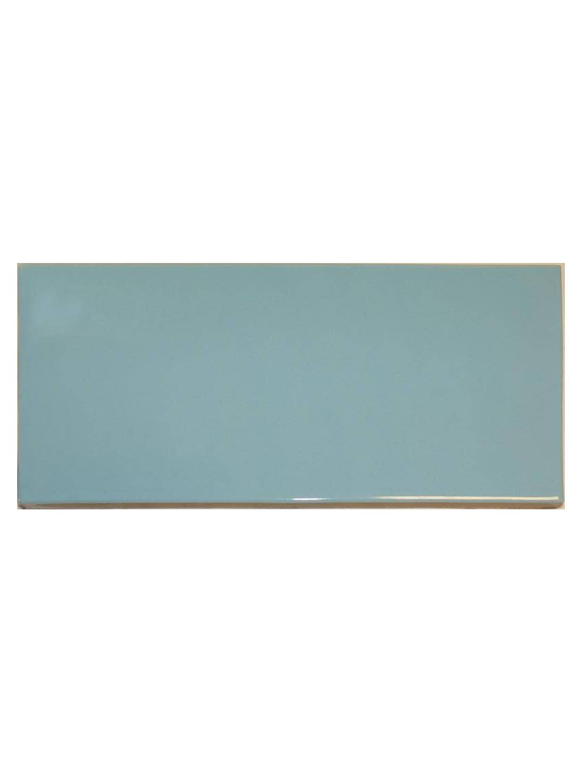Carrelage gres etire bleu brillant 12x24 5 paquet 0 71 m2 for Carrelage gres