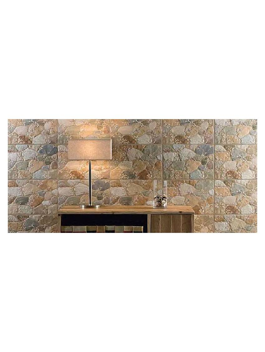 Faience Murale Imitation Pierre carrelage imitation pierre mix 33.3x50 paquet 1 m2